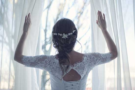 引き寄せで結婚相手と出会えた新婦